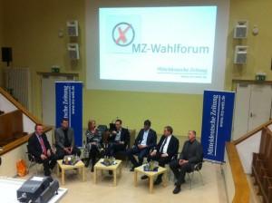 MZ-Wahlforum zur Kommunalwahl